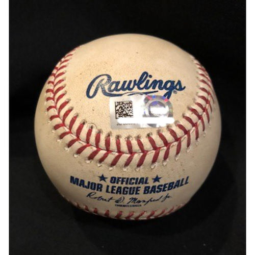 Photo of Bryce Harper - Game-Used Baseball - Bryce Harper Foul Ball