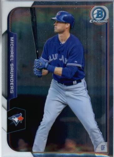 Photo of 2015 Bowman Chrome #64 Michael Saunders