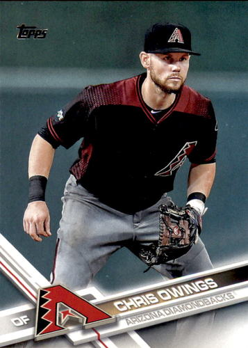 Photo of 2017 Topps #575 Chris Owings
