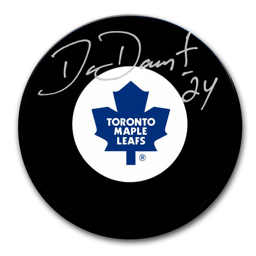 Dan Daoust Toronto Maple Leafs Autographed Puck