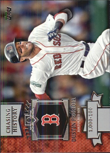 Photo of 2013 Topps Chasing History #CH75 Dustin Pedroia