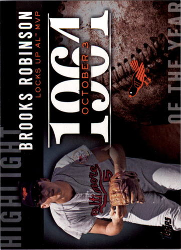 Photo of 2015 Topps Highlight of the Year #H14 Brooks Robinson