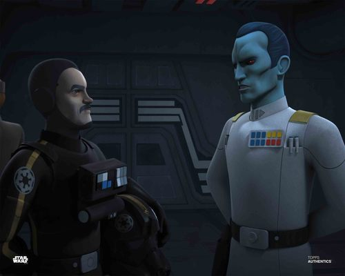 Grand Admiral Thrawn and Vult Skerris