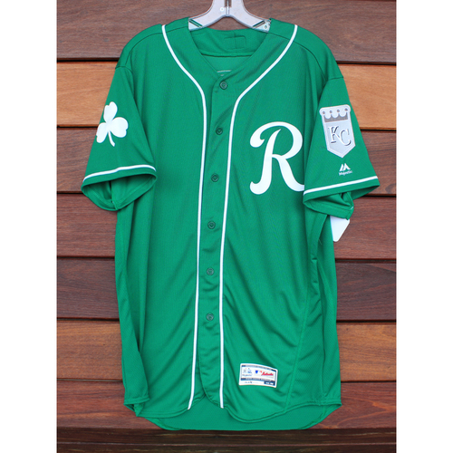 Team-Issued St. Patrick's Day Jersey: Donnie Dewees (Size - 46)