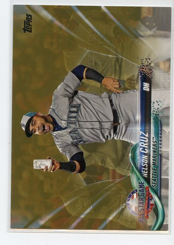 Photo of 2018 Topps Update Gold #US182 Nelson Cruz AS