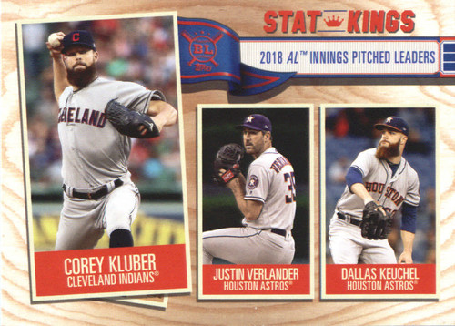 Photo of 2019 Topps Big League #371 Dallas Keuchel/Justin Verlander/Corey Kluber