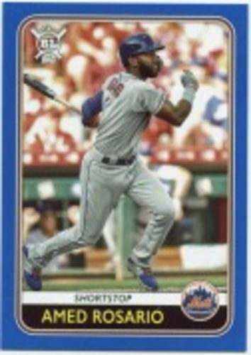 Photo of 2020 Topps Big League Blue #74 Amed Rosario