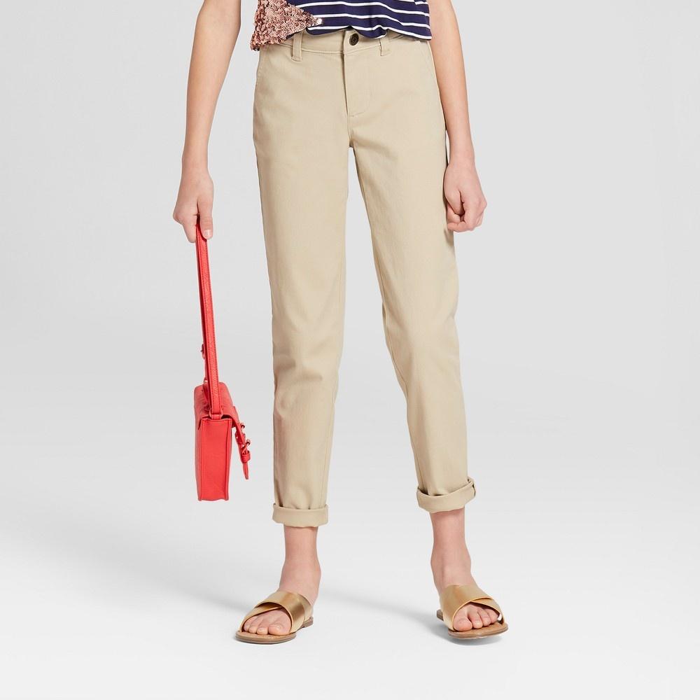 Photo of Girls' Twill Pants