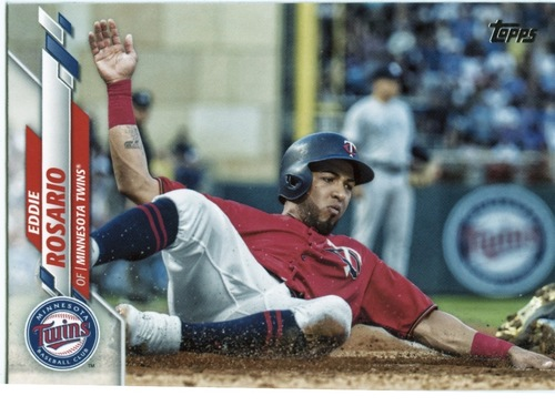 Photo of 2020 Topps #483 Eddie Rosario