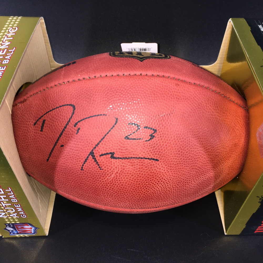PCF - Seahawks Demarious Randall Signed Authentic Football