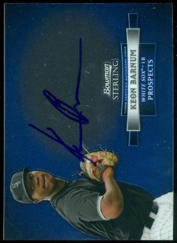 Photo of 2012 Bowman Sterling Prospect Autographs #KB Keon Barnum