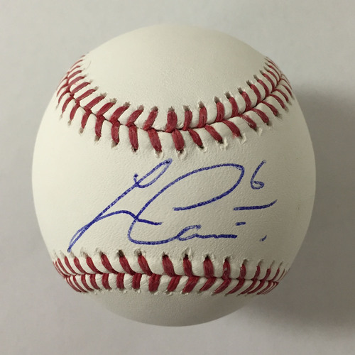 Photo of Lorenzo Cain Autographed Baseball