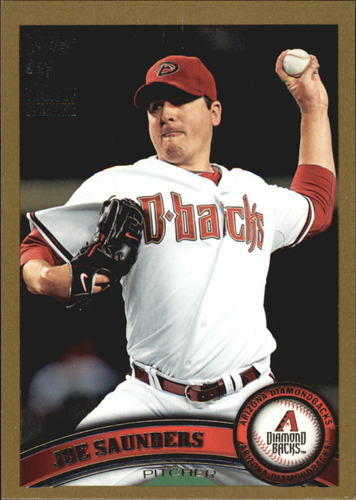 Photo of 2011 Topps Gold #453 Joe Saunders