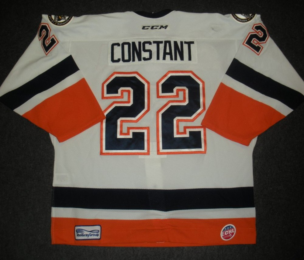 Ryan Constant - Hockey Heritage Weekend - Stockton Thunder - Game-Worn Jersey