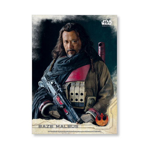 Baze Malbus 2016 Star Wars Rogue One Series One Base Poster - # to 99
