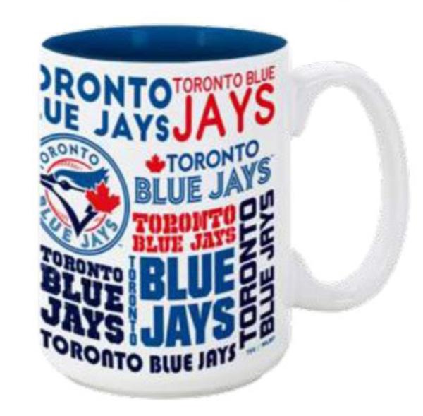 Toronto Blue Jays Cityscape Coffee Mug by The Sports Vault