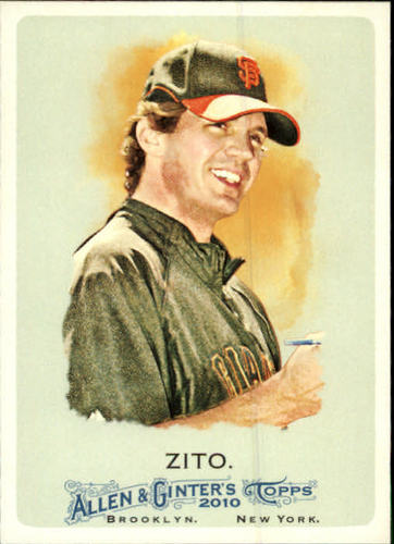 Photo of 2010 Topps Allen and Ginter #296 Barry Zito