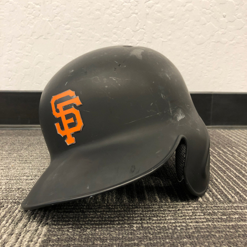 Photo of San Francisco Giants - Game Used Batting Helmet used by #47 Johnny Cueto on 9/12/17 & 10/1/17