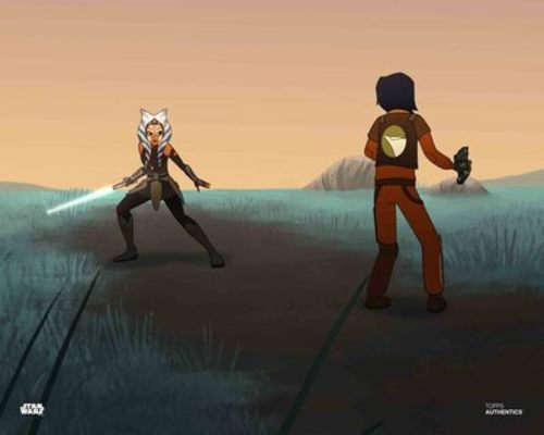 Ahsoka Tano and Ezra Bridger