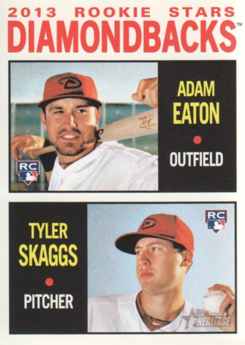 Photo of 2013 Topps Heritage #356 Adam Eaton RC/Tyler Skaggs RC