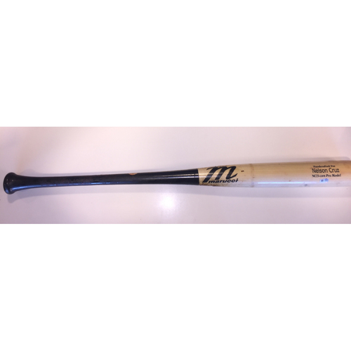 Photo of Minnesota Twins Game Used Broken Bat - Nelson Cruz - 4/17/19