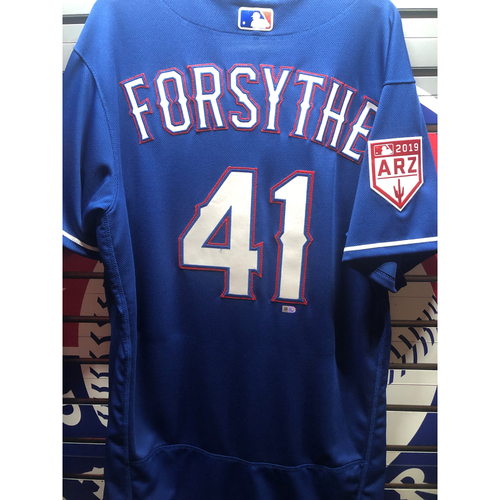 Photo of Logan Forsythe Team-Issued Spring Training Jersey