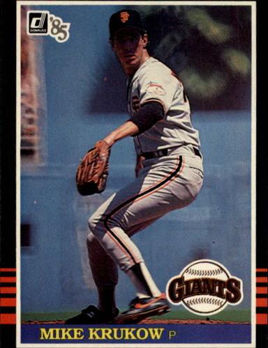 Photo of 1985 Donruss #630 Mike Krukow