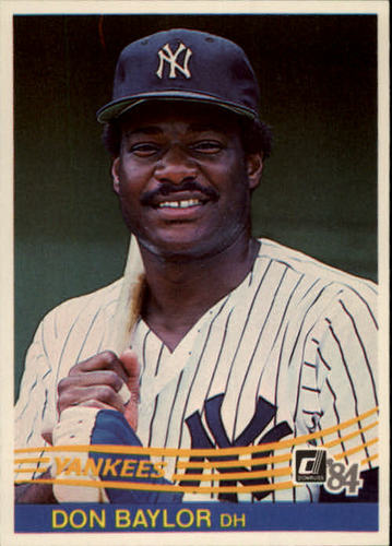 Photo of 1984 Donruss #152 Don Baylor