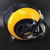 PCC - Rams Isaac Bruce Signed Proline Helmet