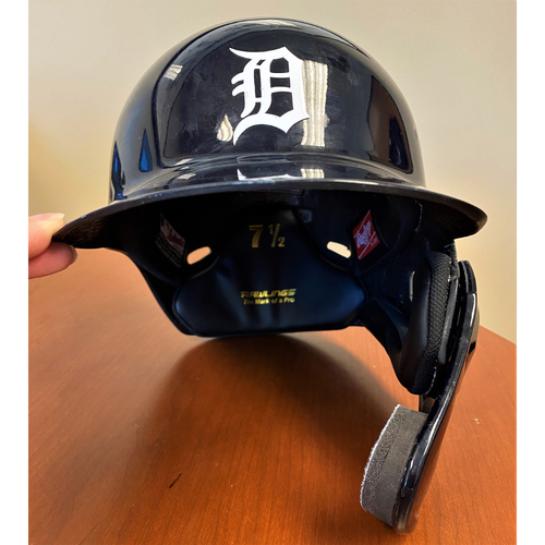 Photo of Isaac Paredes #19 Detroit Tigers Rookie Season Game-Used Home Batting Helmet  (MLB AUTHENTICATED)