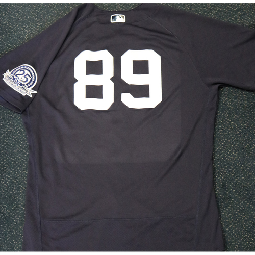 Photo of 2020 Game-Used Spring Training Jersey - Miguel Yajure #89 - Size 46