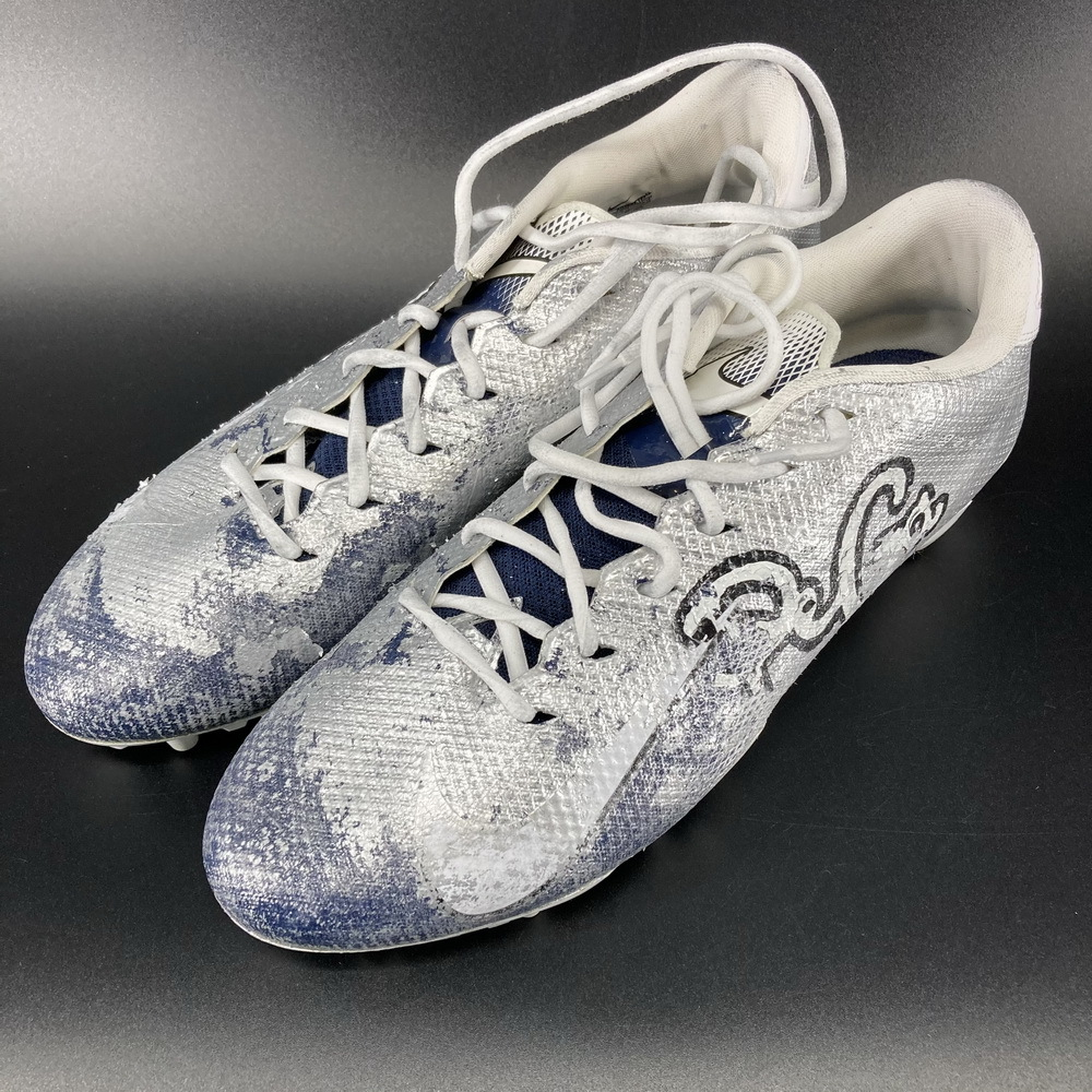My Cause My Cleats - Cowboys CJ Goodman Game Used Cleats 2020