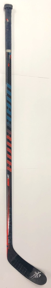 #4 Kris Russell Game Used Stick - Autographed - Edmonton Oilers