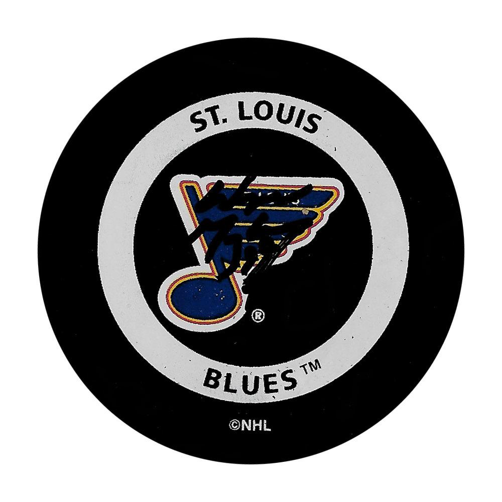 Wayne Gretzky Autographed St. Louis Blues Official Game Puck