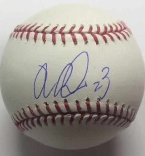Nori Aoki Autographed Baseball