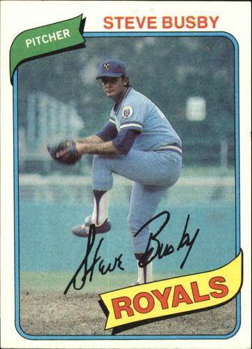 Photo of 1980 Topps #474 Steve Busby