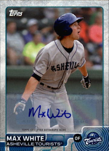 Photo of 2015 Topps Pro Debut Autographs #120 Max White