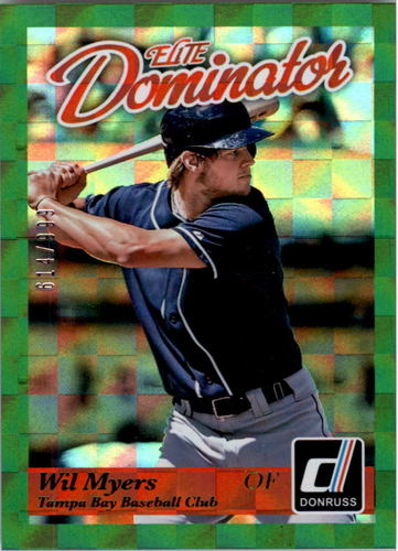 Photo of 2014 Donruss Elite Dominator #28B Wil Myers