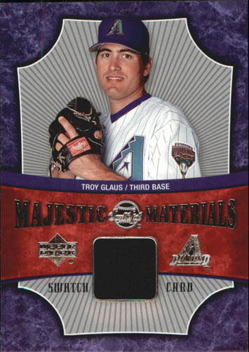 Photo of 2005 Sweet Spot Majestic Materials #TG Troy Glaus