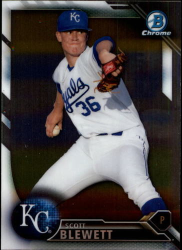 Photo of 2016 Bowman Chrome Prospects #BCP126 Scott Blewett