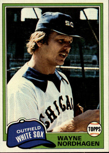 Photo of 1981 Topps #186 Wayne Nordhagen