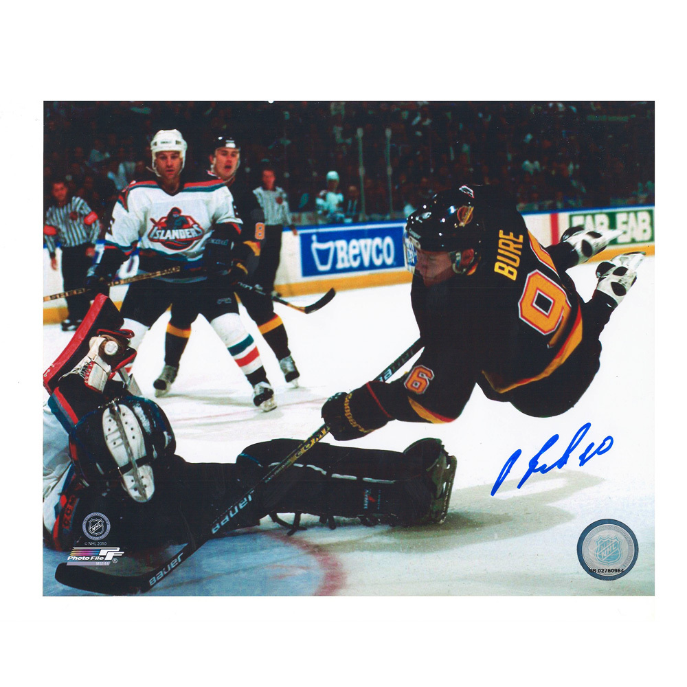 PAVEL BURE Signed Vancouver Canucks 8 X 10 Photo - 70300