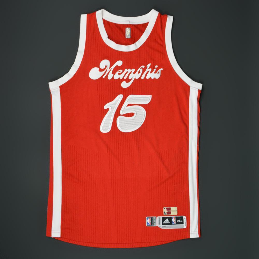 quality design 43d01 11f1e vince carter memphis grizzlies jersey