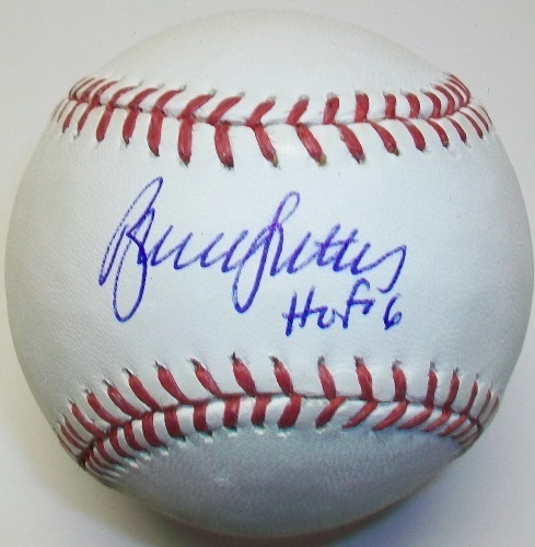 "Photo of Bruce Sutter ""HOF 06"""" Autographed Baseball"