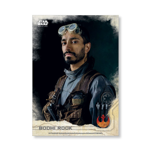 Bodhi Rook 2016 Star Wars Rogue One Series One Base Poster - # to 99