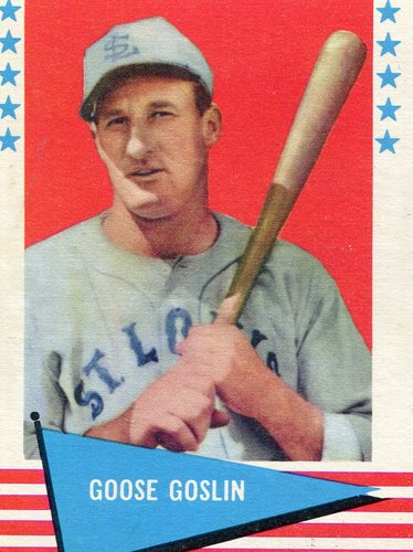Photo of 1961 Fleer #35 Goose Goslin -- Hall of Fame Class of 1968