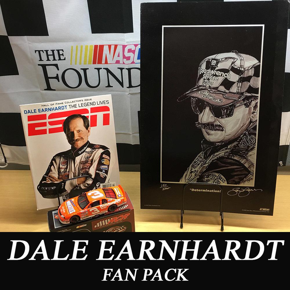 NASCAR's Dale Earnhardt fan pack!