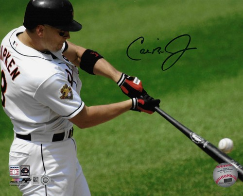 Photo of Cal Ripken Jr. Autographed 8x10 Photo (Batting)