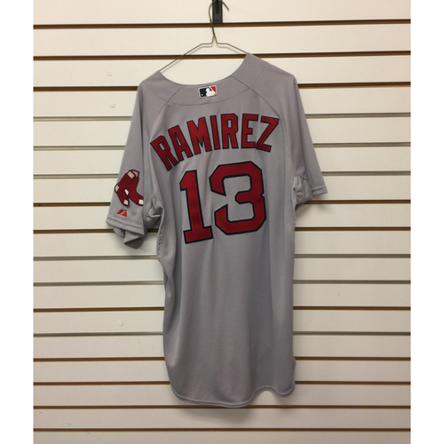Photo of Hanley Ramirez Team-Issued 2015 Road Jersey
