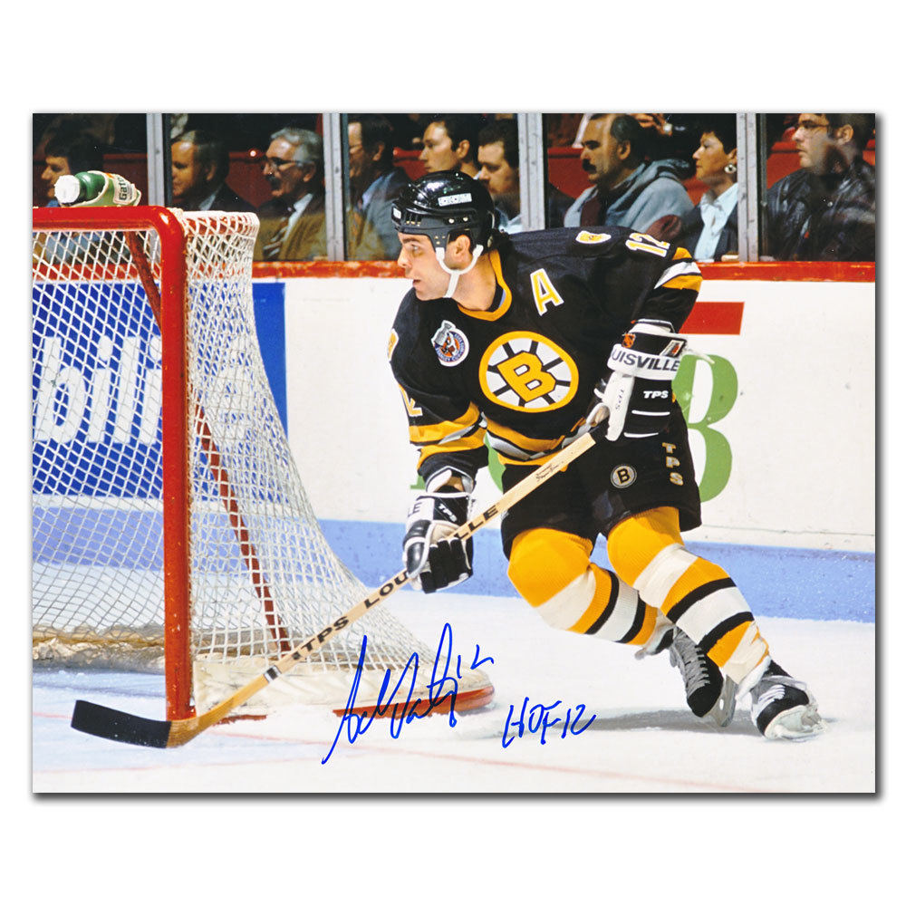 Adam Oates Boston Bruins HOF RUSH Autographed 8x10